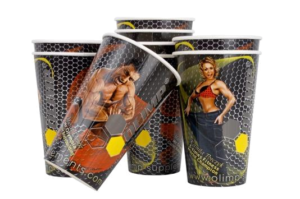 reklama na kubkach papierowych, kubki papierowe z nadrukiem indywidualnym