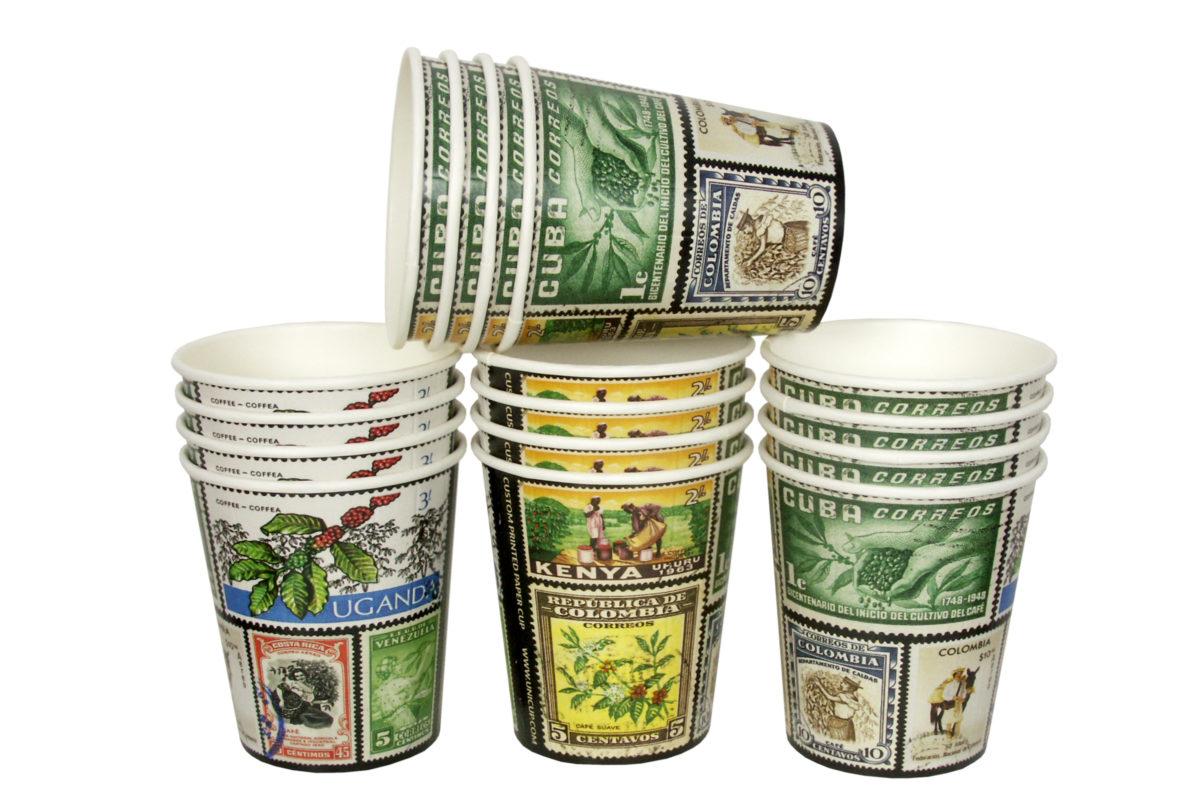 Kubki papierowe z nadrukiem