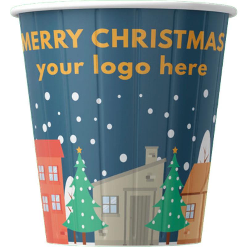 Kubki papierowe Świąteczne